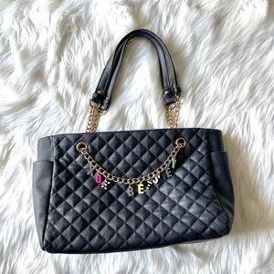 Betsey Johnson quilted hand bag